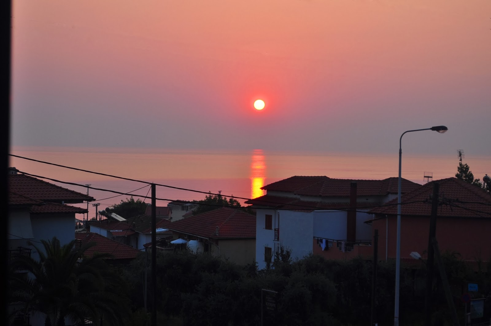 Изгрев над Скала Потамия, Тасос.