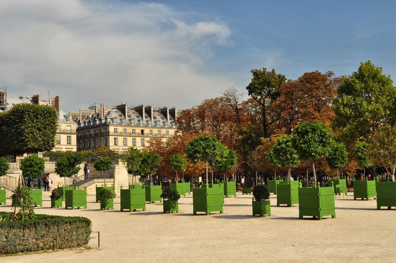 Паркът Jardins de Tuilleries