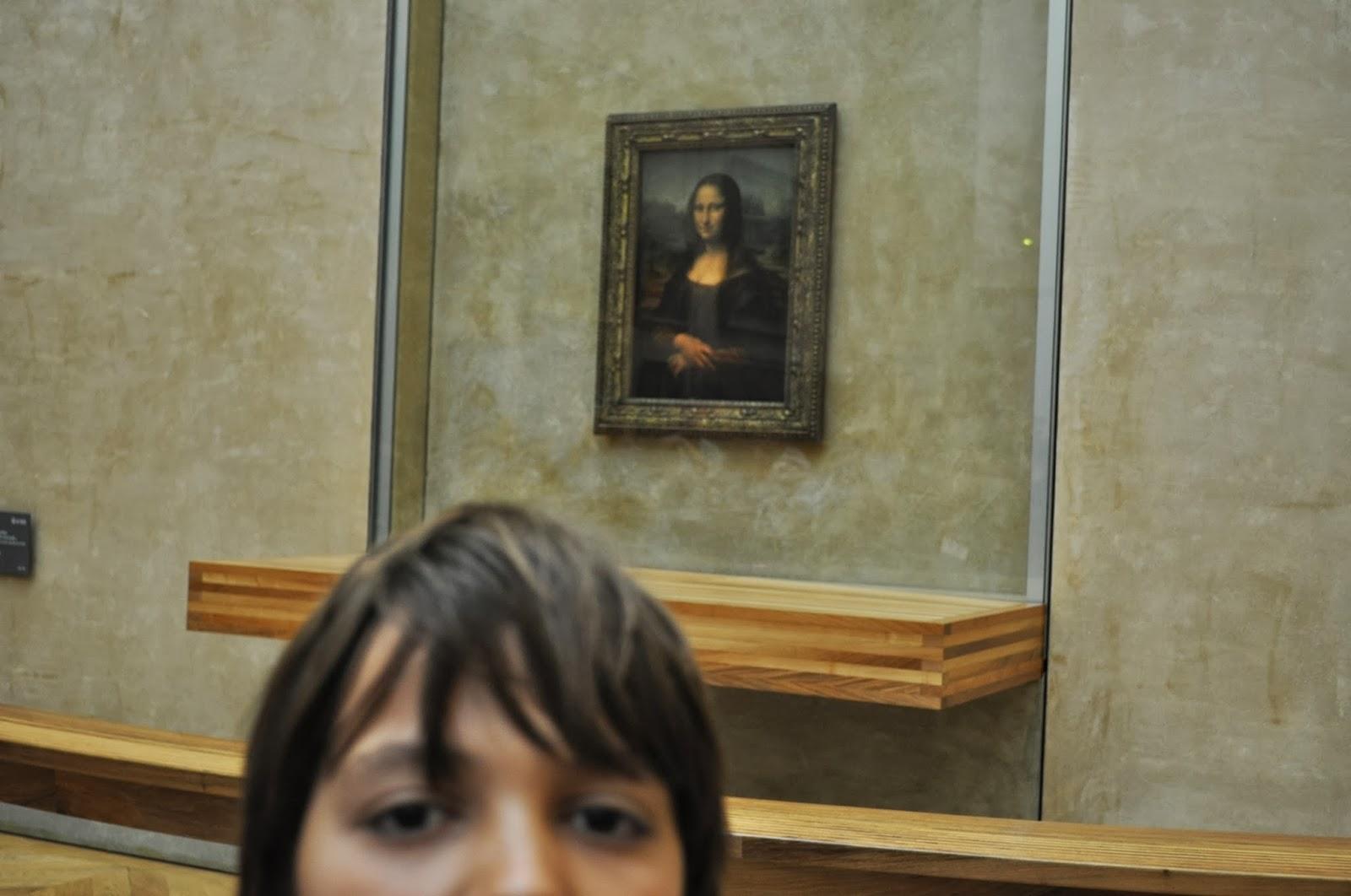 Да отидеш в Лувъра и да не видиш Джокондата е като да отидеш в Рим и да не видиш папата!