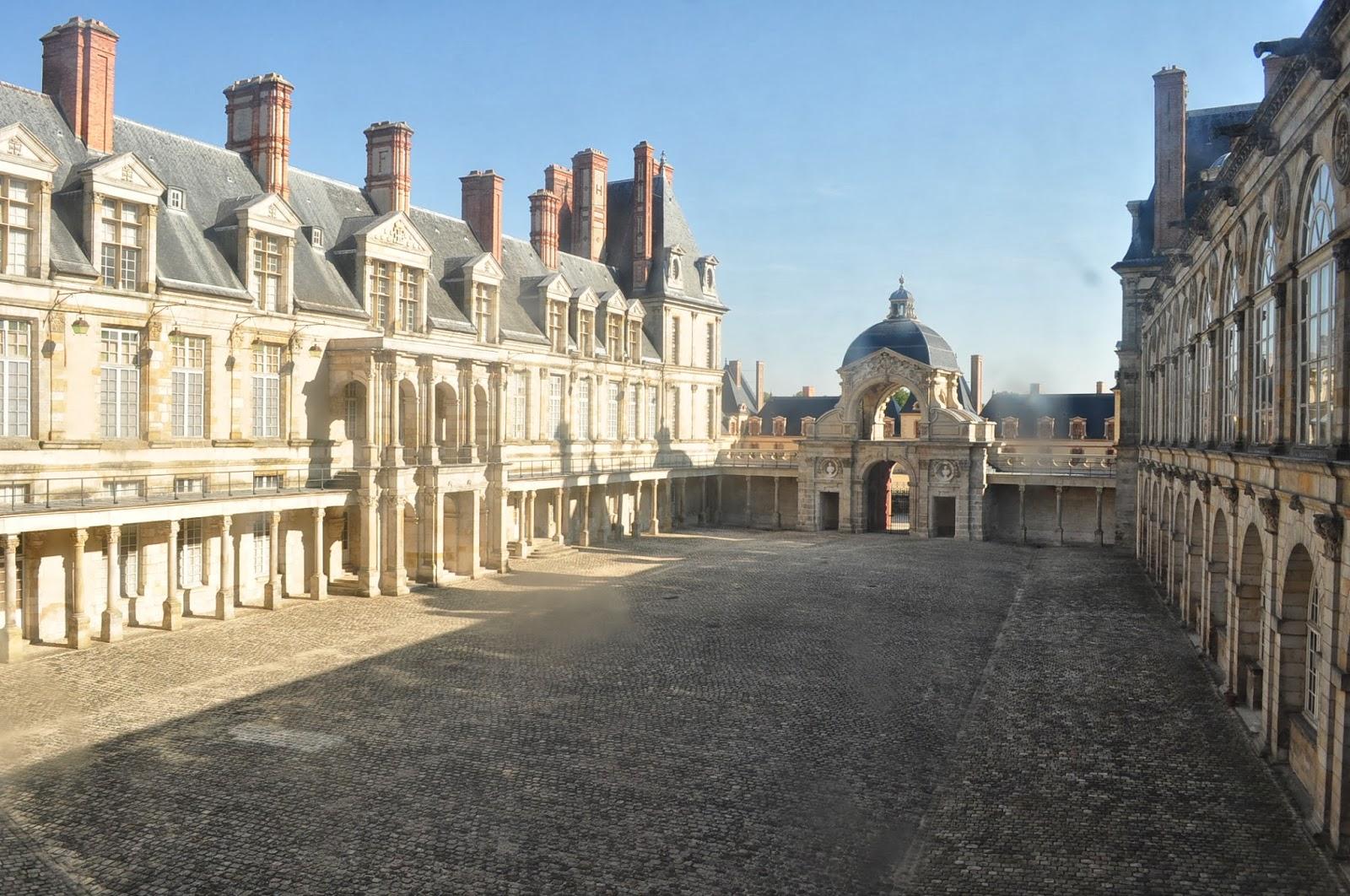 Fontainebleau - дворецът на Наполеон.