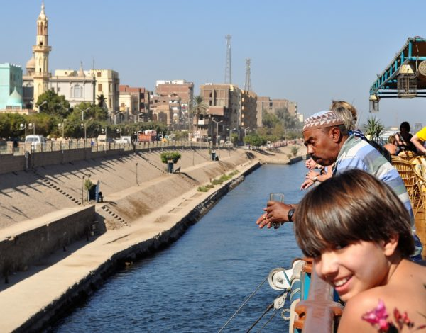 С корабче по Нил