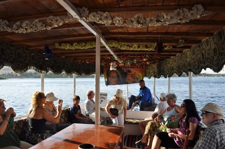 С фелука /арабска ветроходна лодка/ по Нил на път за нубийско селище.