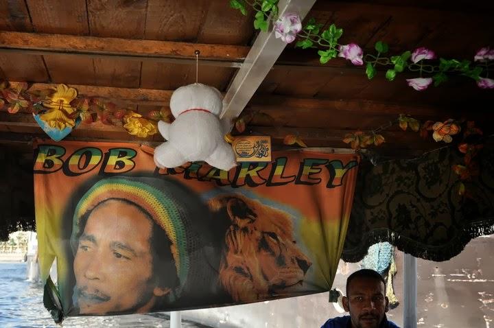 Собственикът беше голям фен на Боб Марли, който е много обичан в Африка.