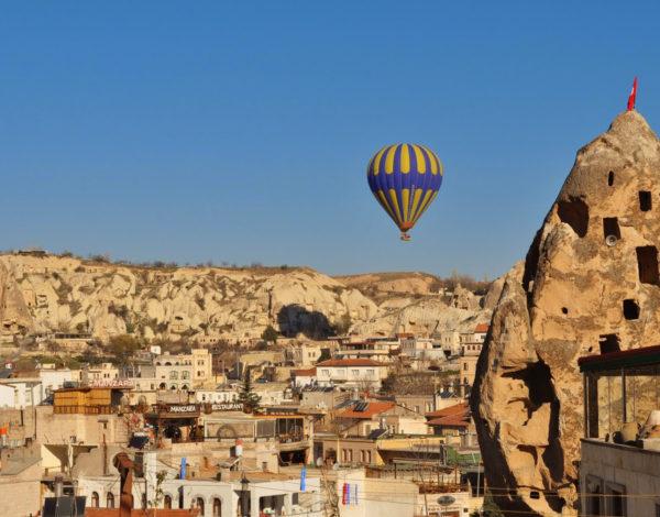 Кападокия на древните християни,  дервишите и …балоните