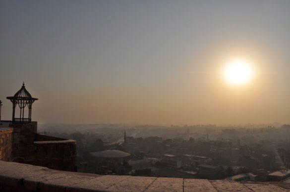 Цитаделата, от която се разкрива спираща дъха гледка към минаретата на града.