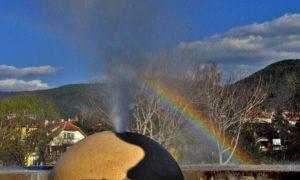 Най–горещият гейзер в Европа извира в центъра на Сапарева баня