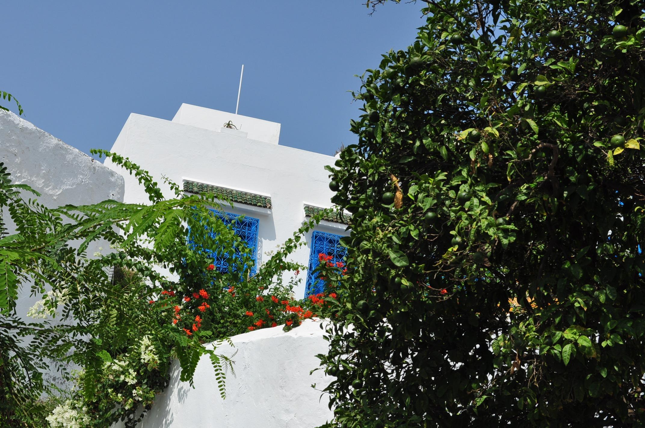 Ето я и синьо-бялата перла на Тунис -Сиди Бу Саид -