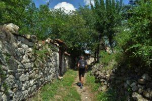 село Лисиците руини