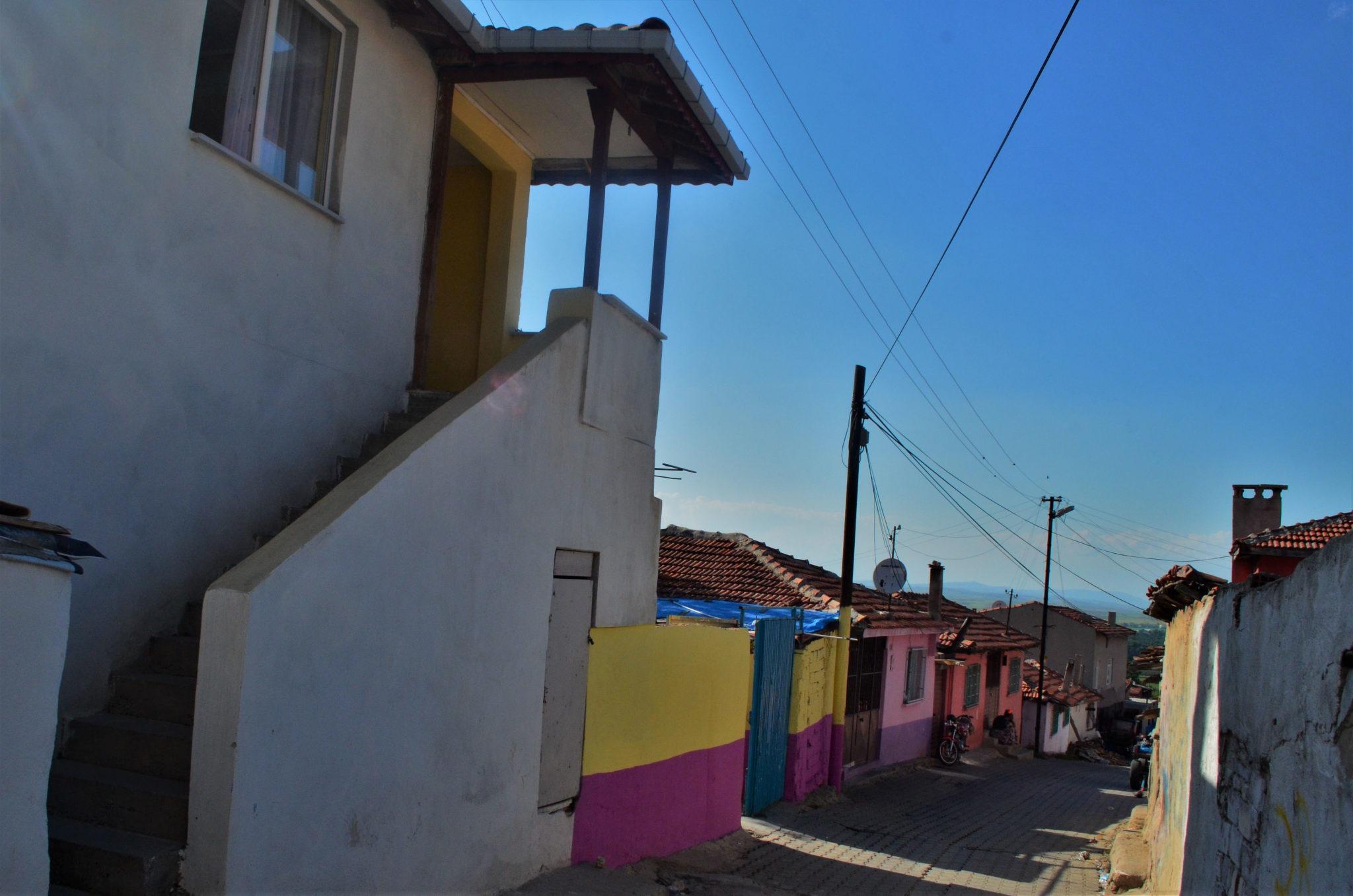 """Квартал """"Кайък"""", където се намира църквата """"Св. Георги"""""""