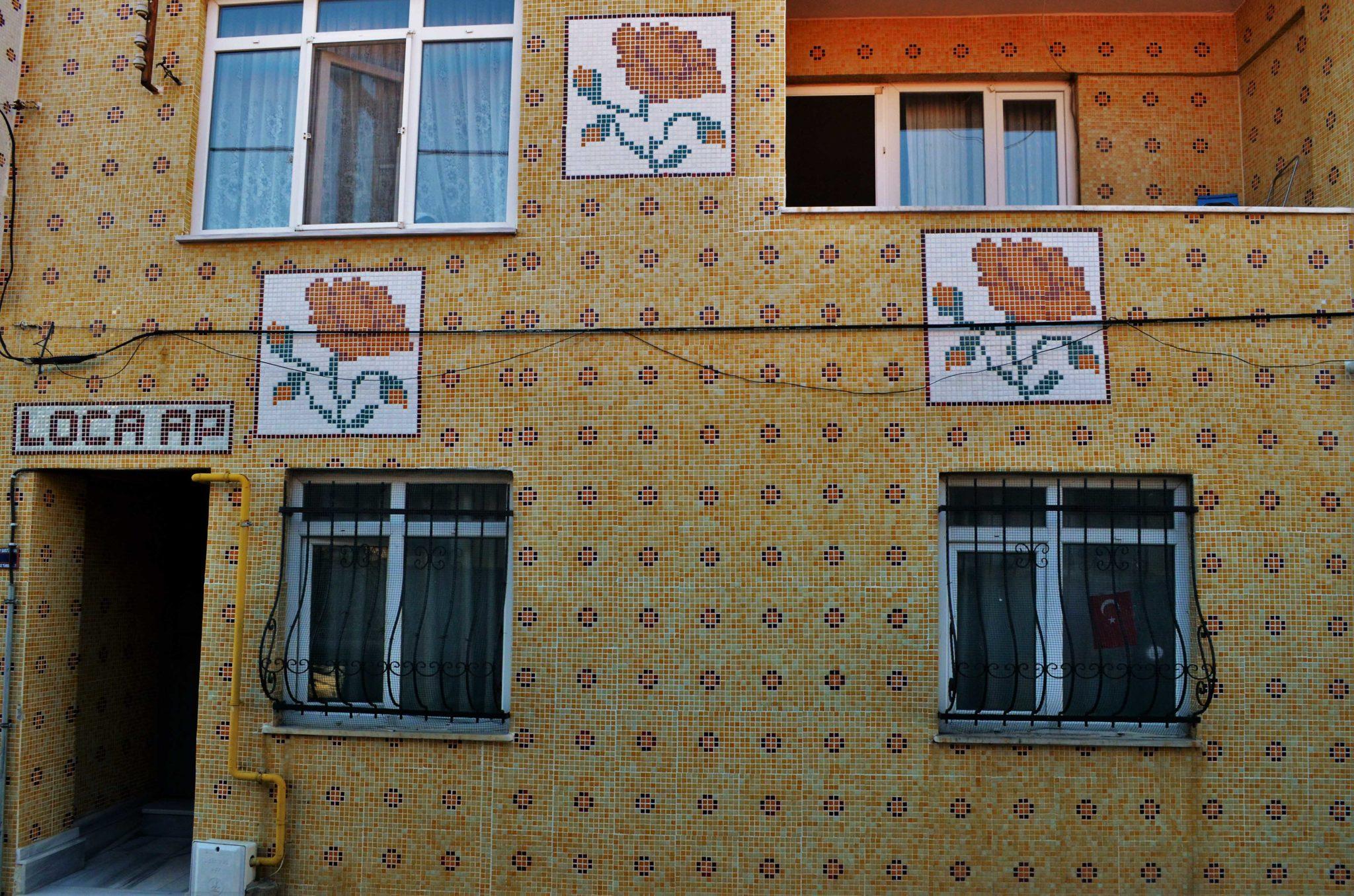 Характерни фасади облицовани с плочки