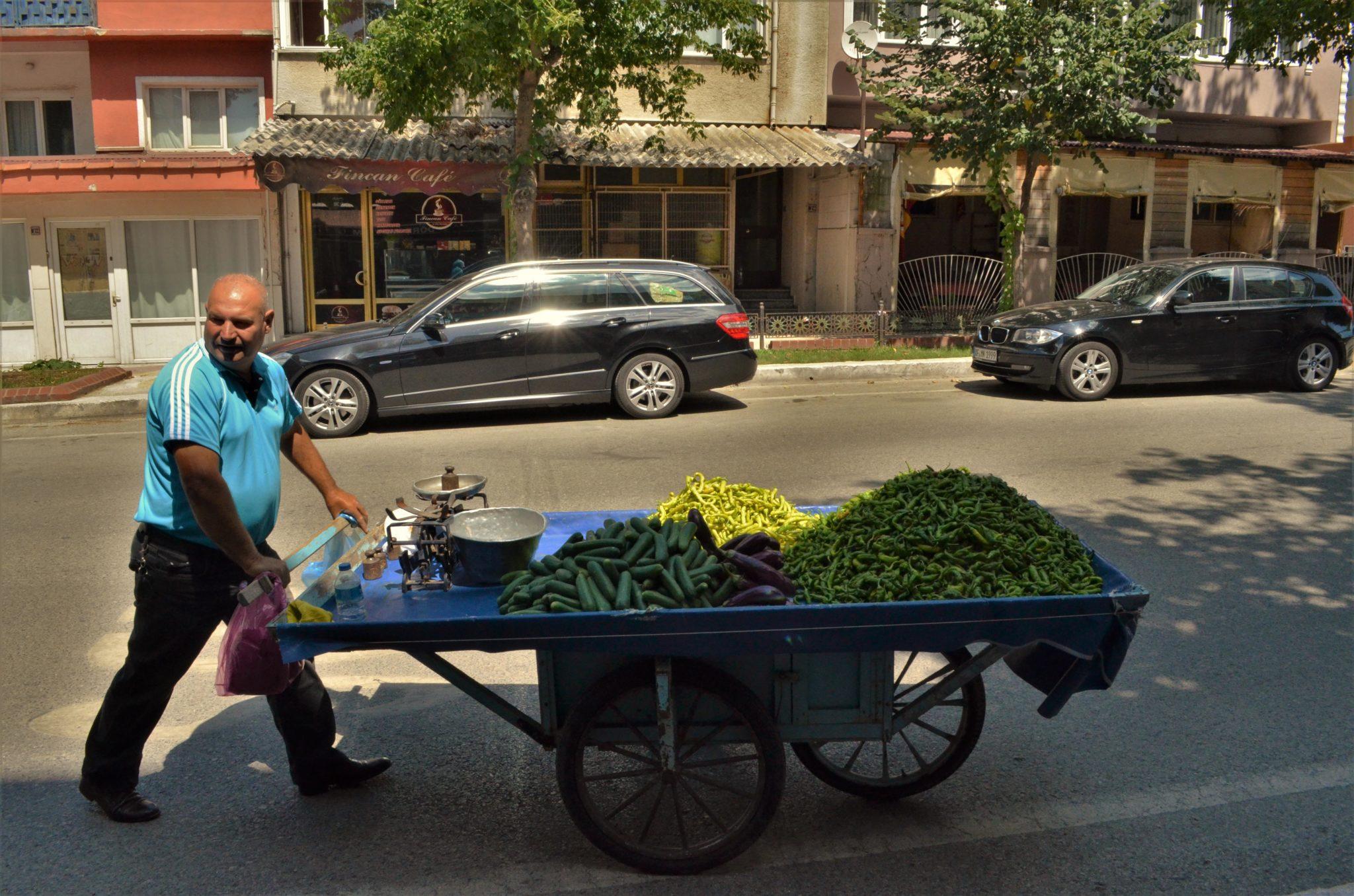 Пресни зеленчуци, моля !