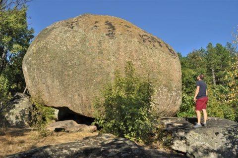 """Мегалитната структура """"Марков камък"""" в Странджа"""