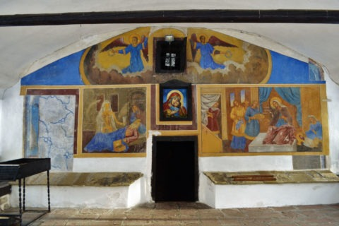 През 1995 тук е открит гробът на Св. Симеон Самоковски