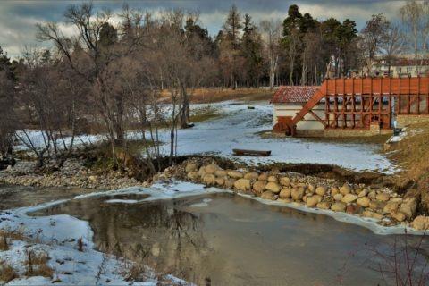 Възстановката на самокoв  край пътя Самоков - Боровец
