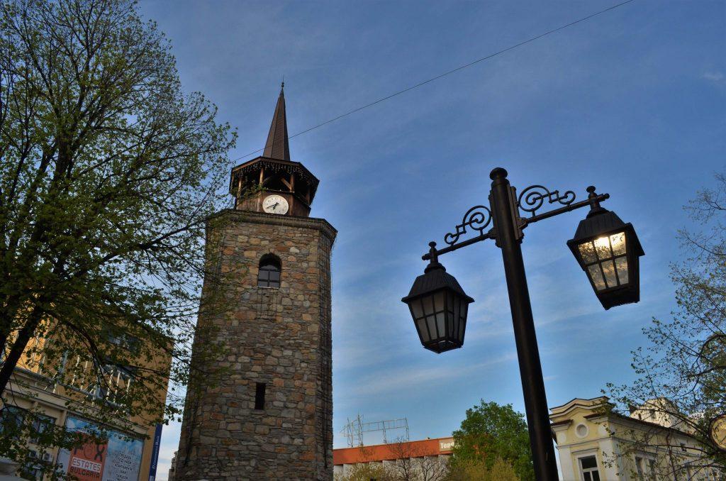 Хасково - часовниковата кула