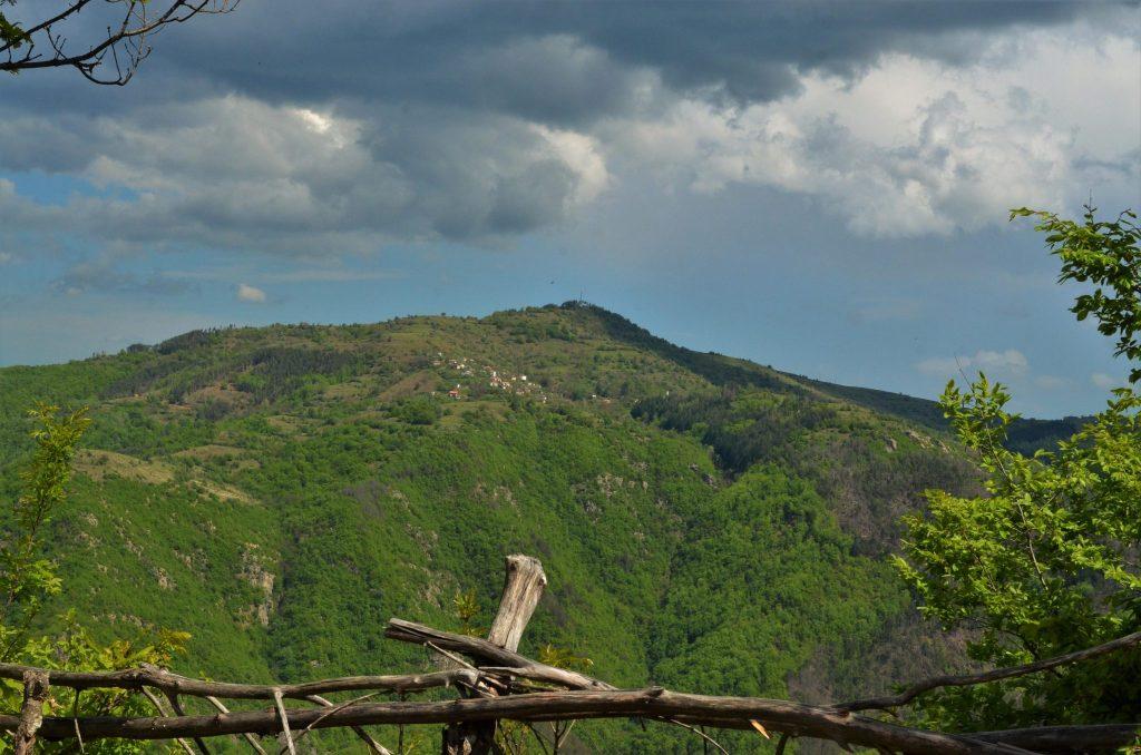Меандрите на Арда -Гледка към село Русалско