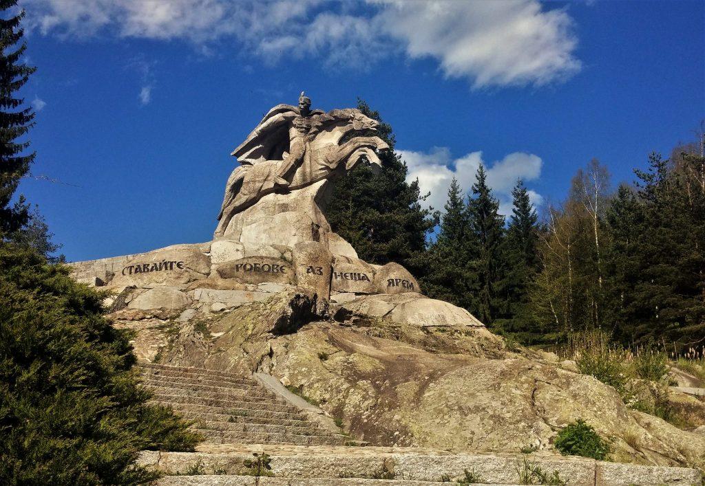Паметникът на Бенковски в Копривщица