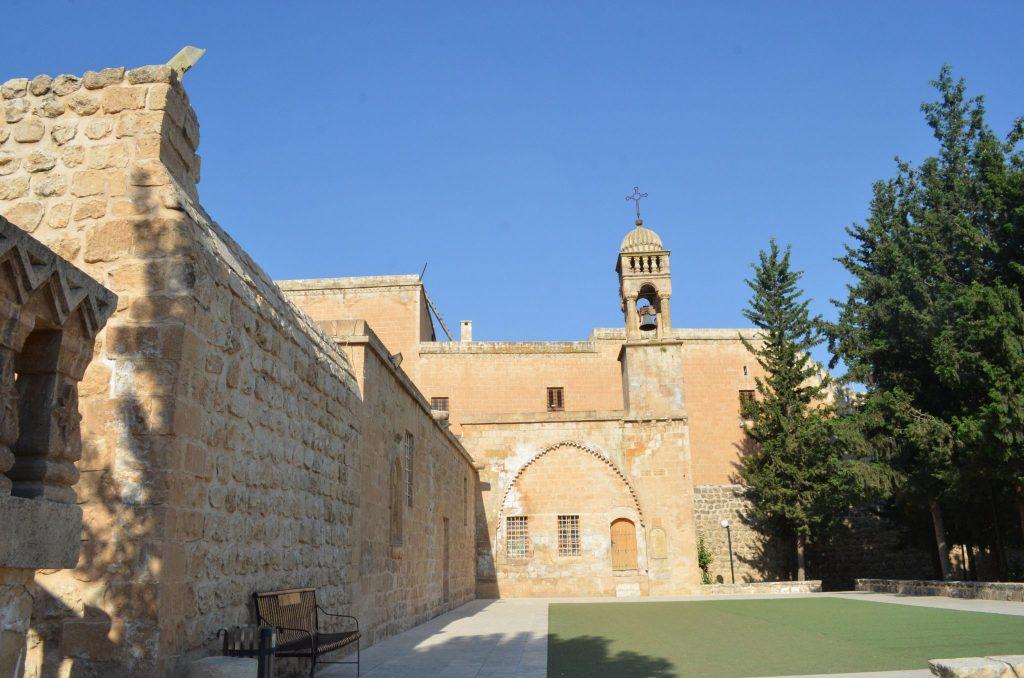 Мардин Турция - църква
