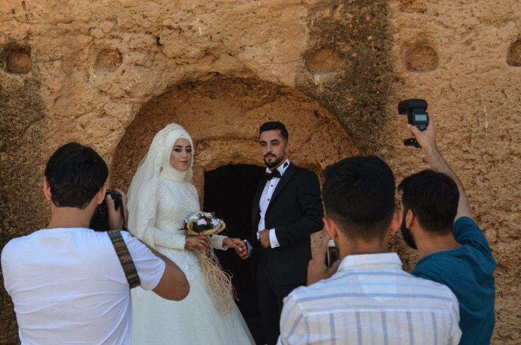 Югоизточна Турция Дара сватба в руините