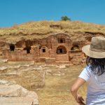 Югоизточна Турция руините на Дара