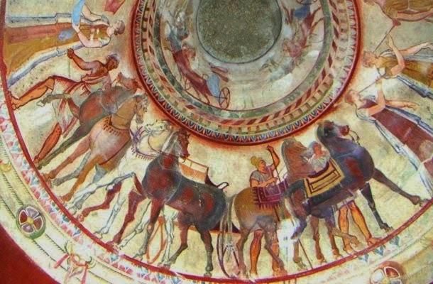 La Vallée des rois Thraces tombeau de Kazanluk