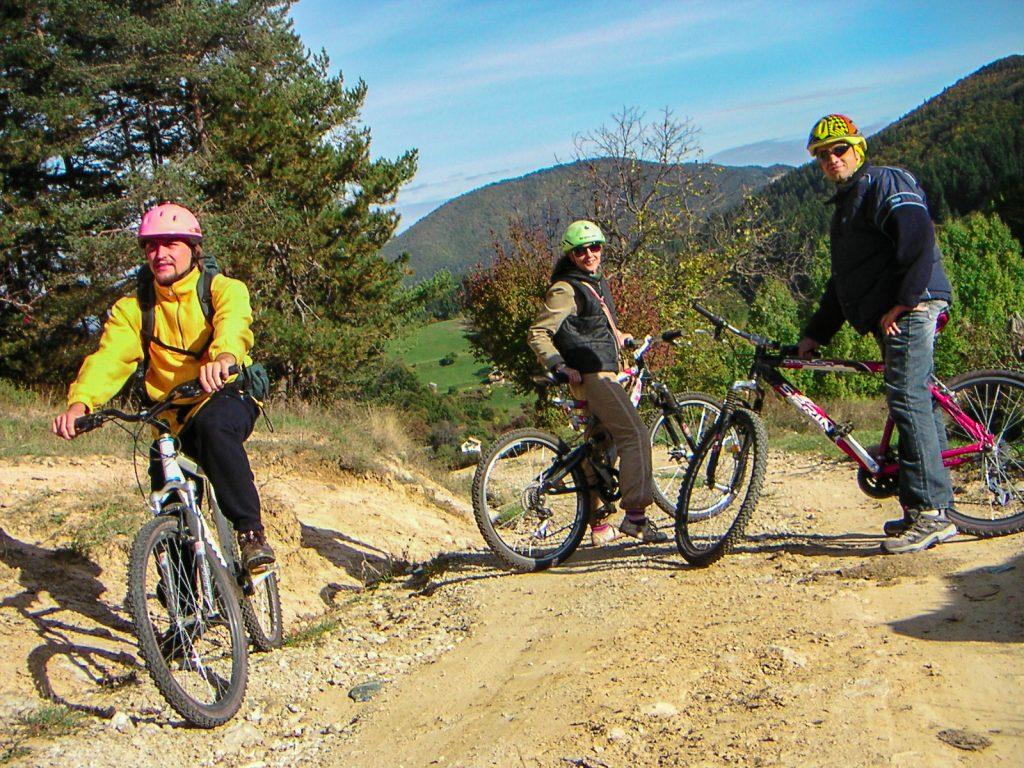 La Vallée d' Arda randonnée en vélo
