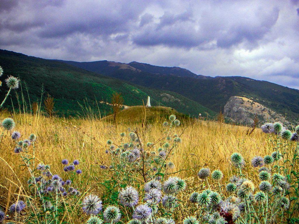 La Vallée des rois Thraces monticule