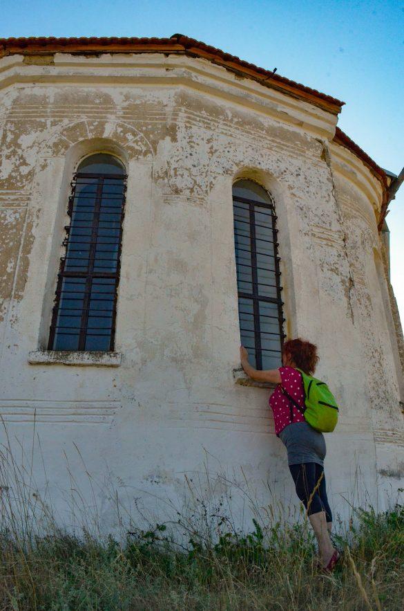 """Храмът """"Свети Георги Победоносец"""" беше заключен."""