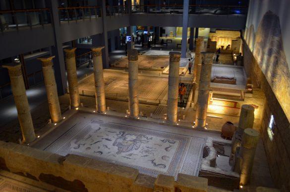 Възстановка на римска вила край р. Ефрат