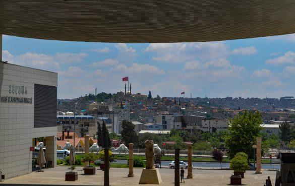 Гледка от музея на мозайките