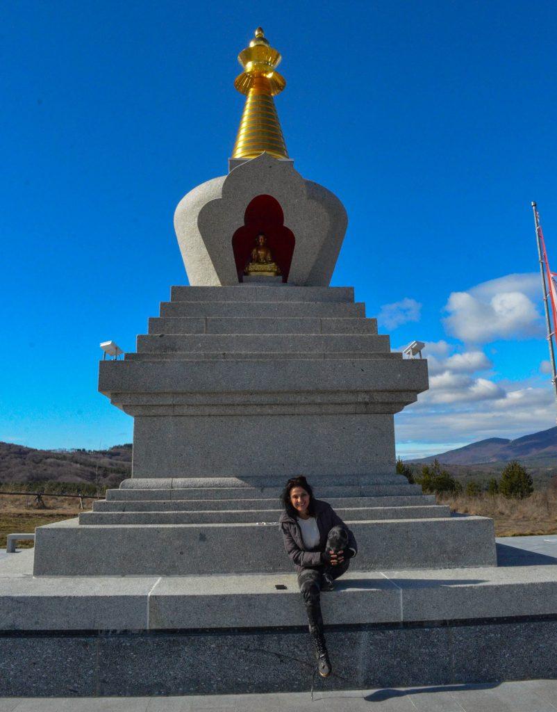 Село Плана будистка ступа