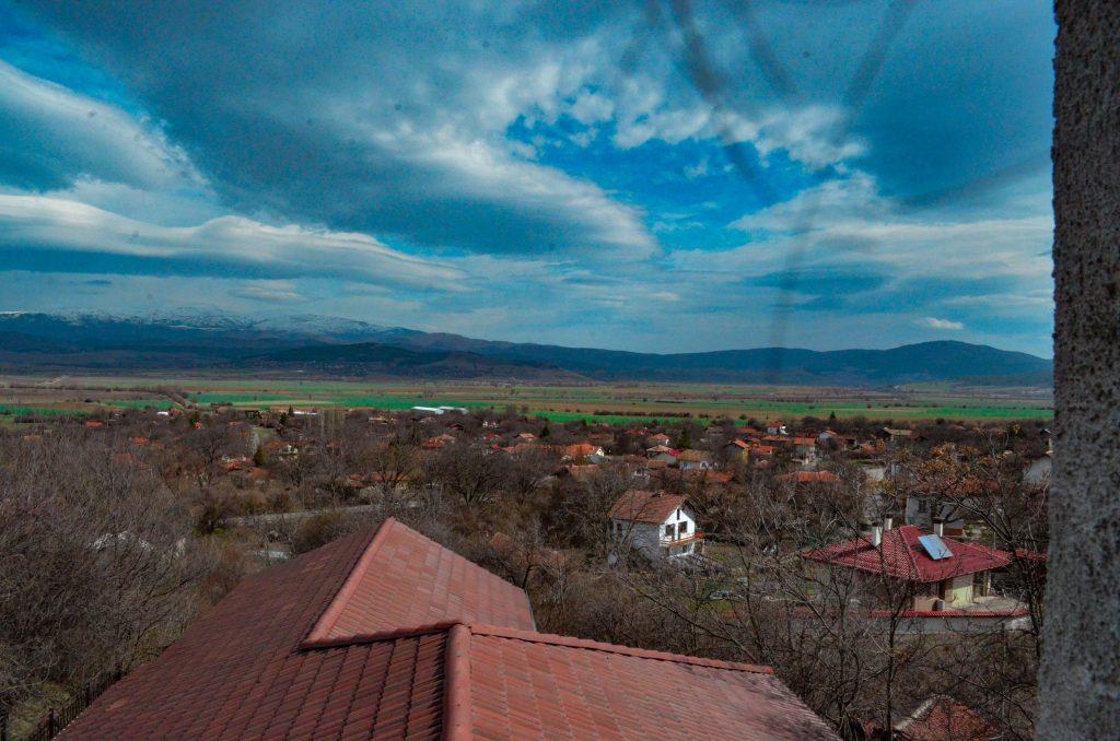 Село Чуковец гледка от камбанарията