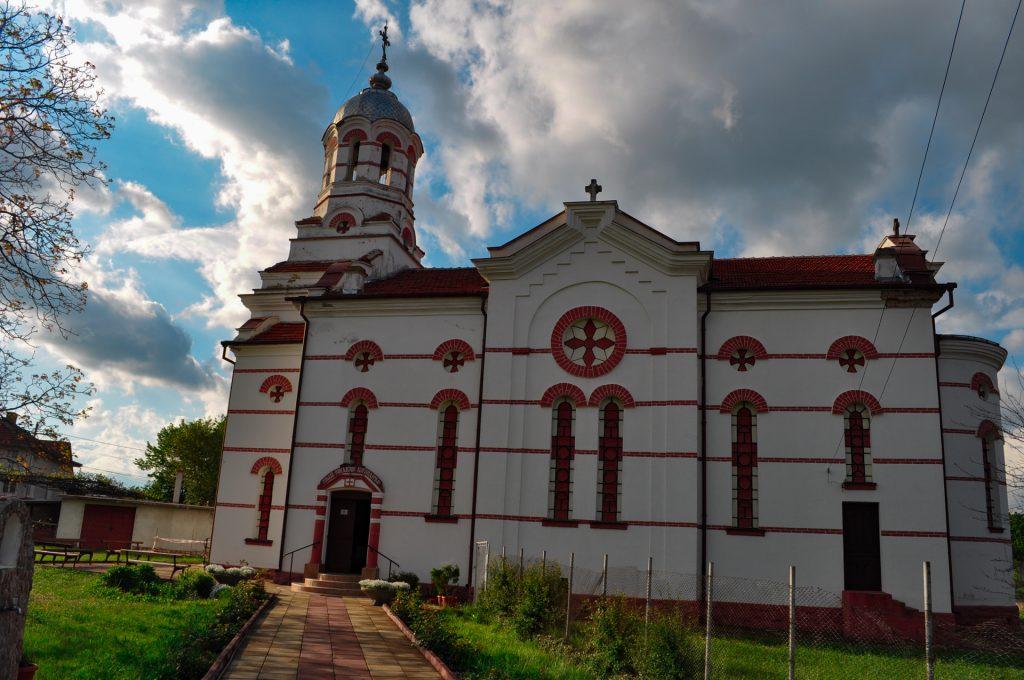 Розовата долина Павел баня църква