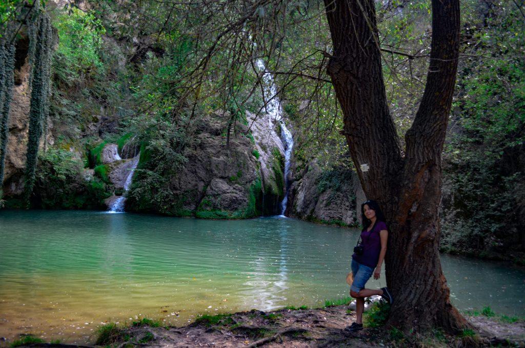 Около Велико Търново Хотнишкия водопад
