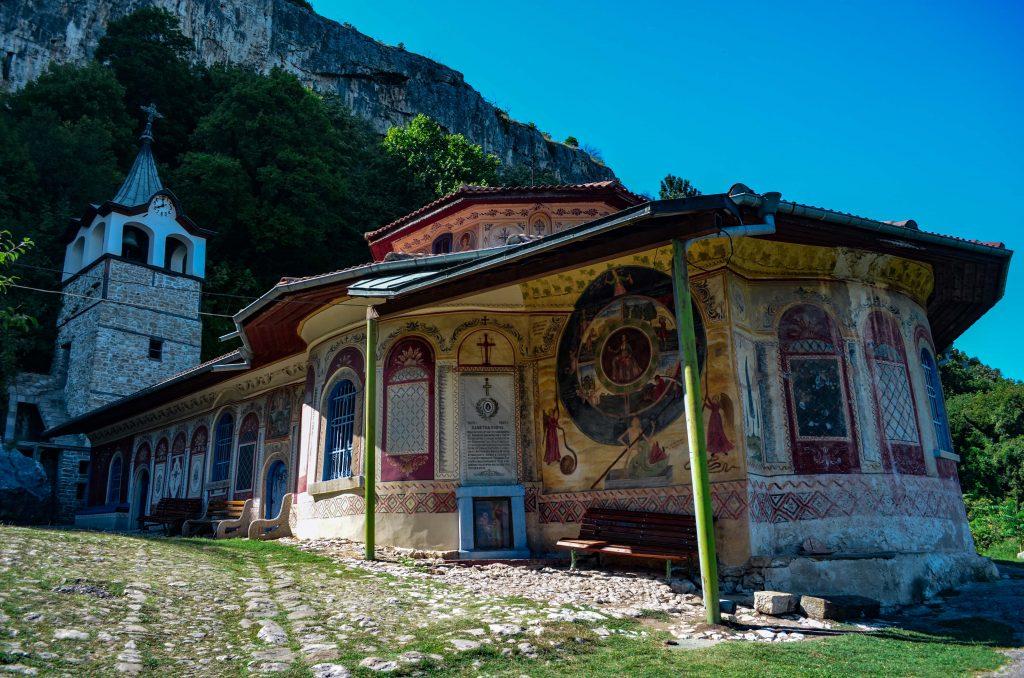 Около Велико Търново Преображенския манастир