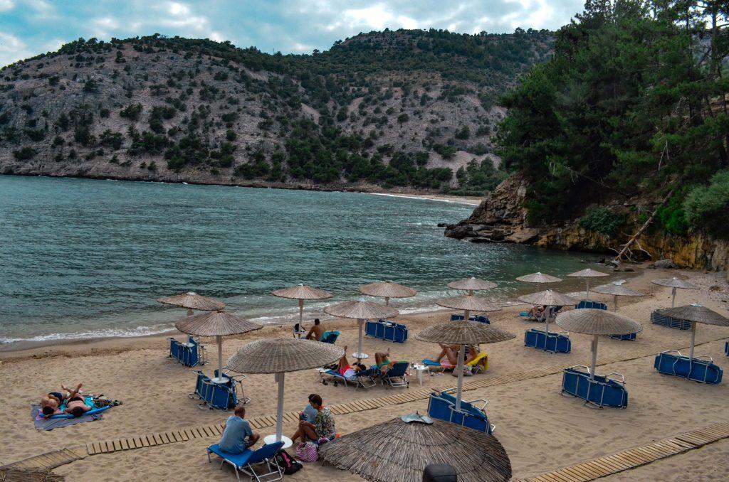 плажове на Тасос- Арсанас