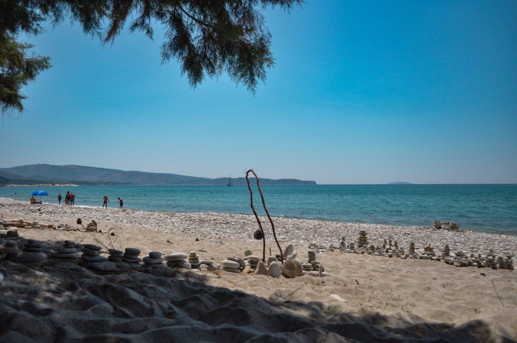 Плажове на Тасос Лименария 1