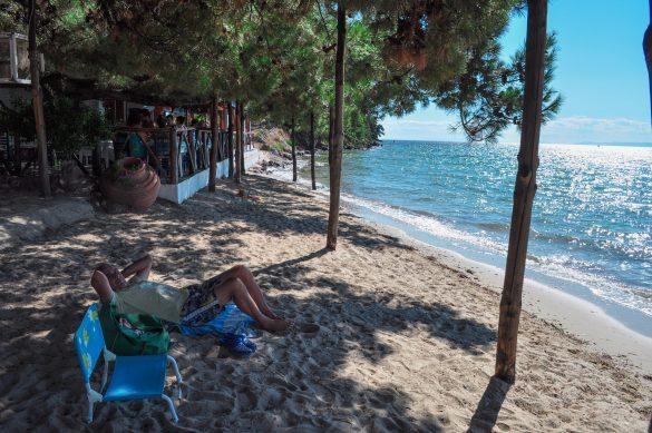 Плажът Пахис преди