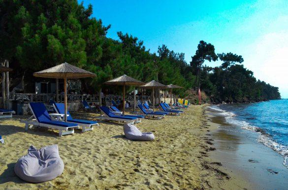 Плажът Пахис  това лято