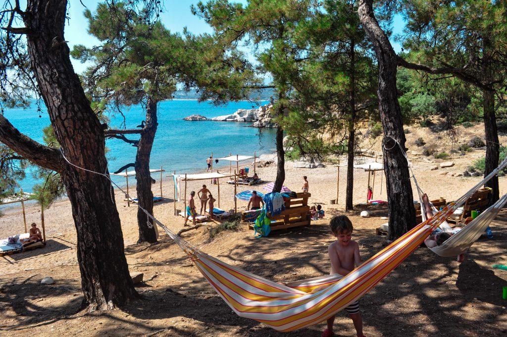 плажове на Тасос - Солоникиос 2