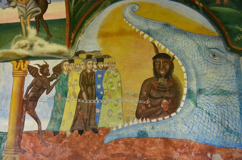 Чуриловският манастир - стенопис