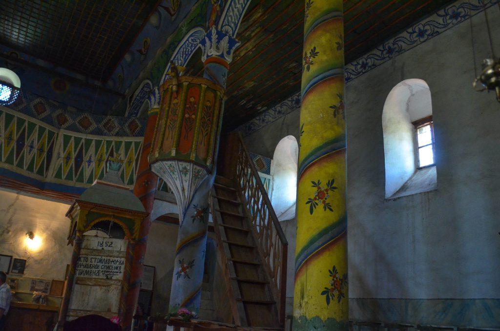 Чуриловският манастир църквата