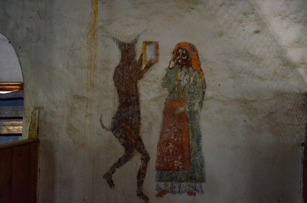 Чуриловският манастир огледало дявол