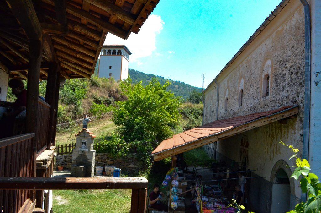 Чуриловският манастир - двор