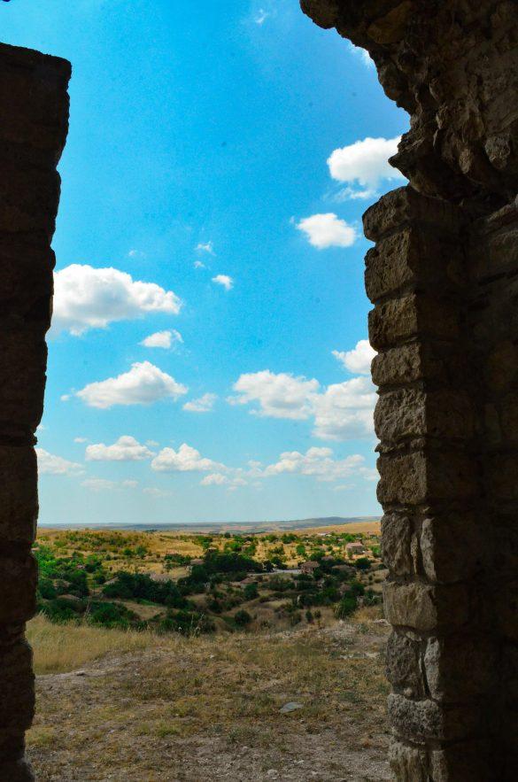 Изглед от Букелон към село Маточина