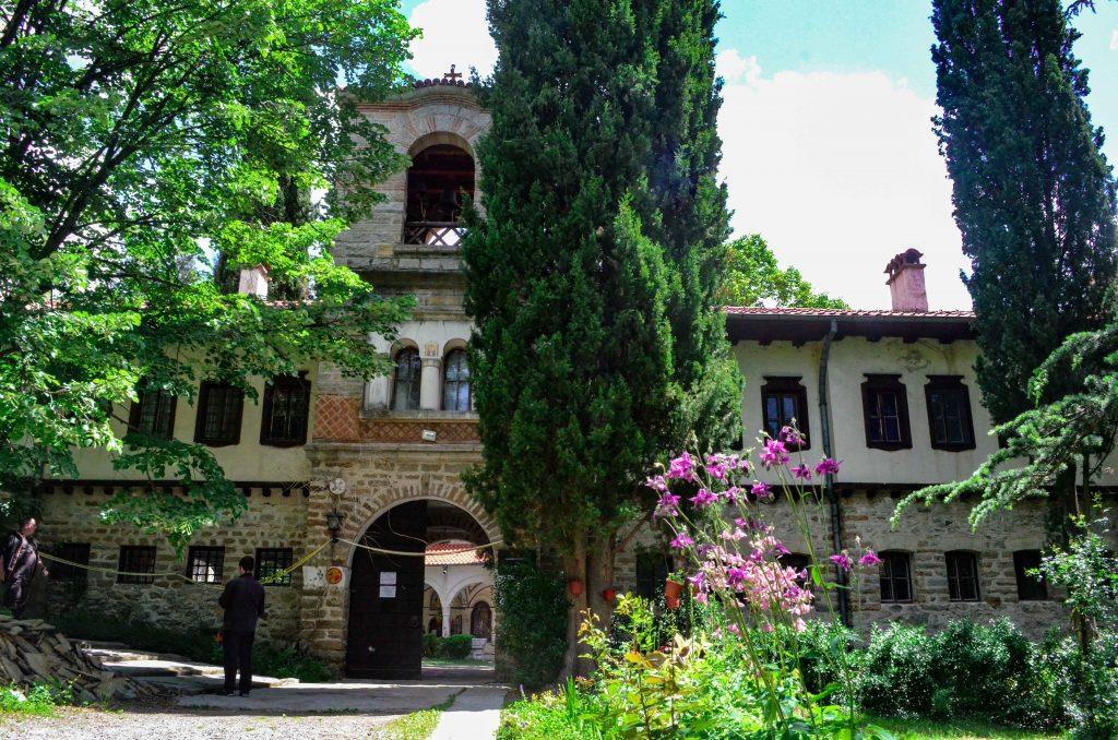 Мъглижки манастир фасада