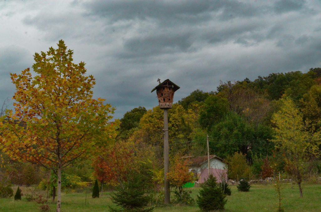 Каменните къщички - къща за птици