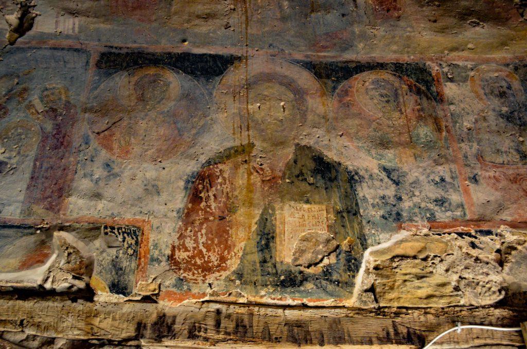църквата на село Калотина стенопис 1