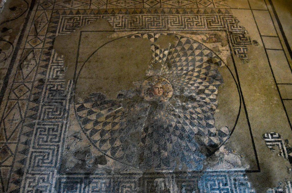 Музеят на мозайките около Варна