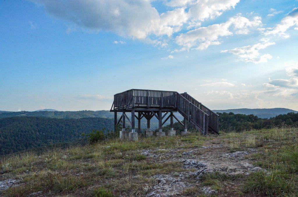 Меандър на Велека забележителности в Странджа наблюдателна кула